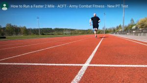 sprint How to Run Faster - Army ACFT PT Test track