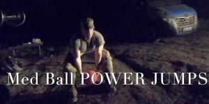 standing power throw med ball power jumps acft new pt test