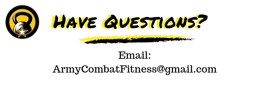 ACFT Training Questions