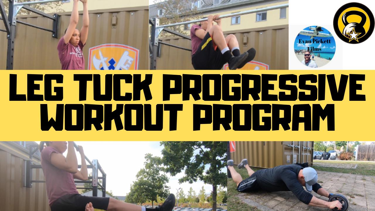 Leg Tuck Progressive workout Program