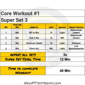 Core workout #1 ss3