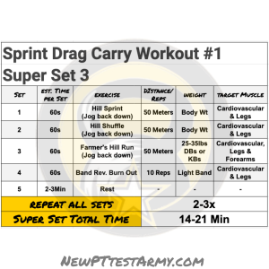Sprint Drag Carry Workout #1 new