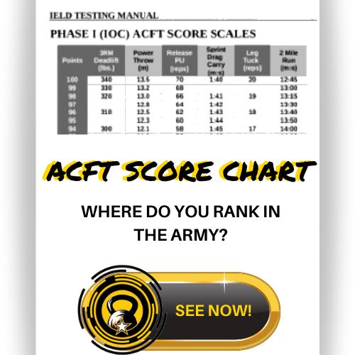 acft score chart