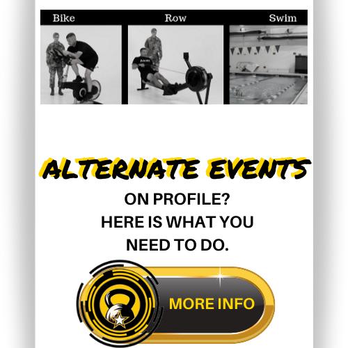 ACFT Alternate Events