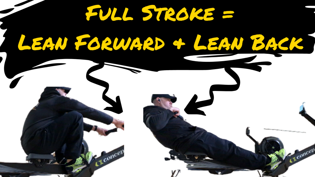 Rowing Full Stroke for Best ACFT Results