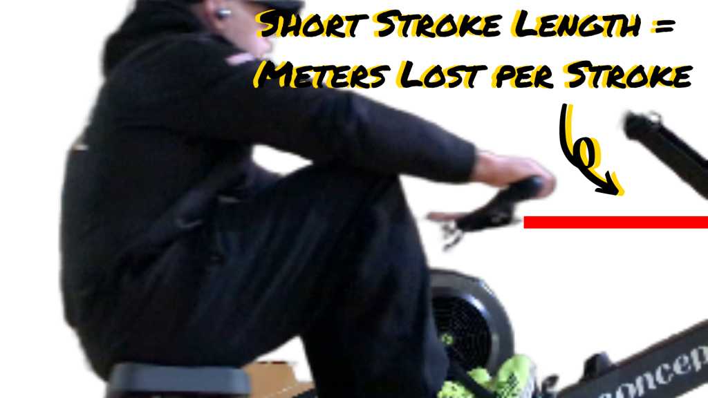 Half Stroke in rowing gives you HALF the ACFT Score