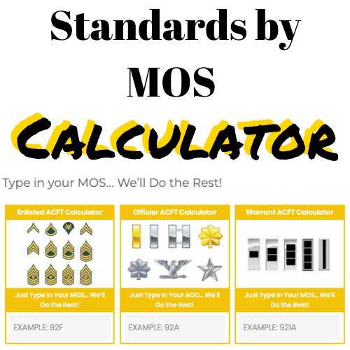 Link to Standards by MOS