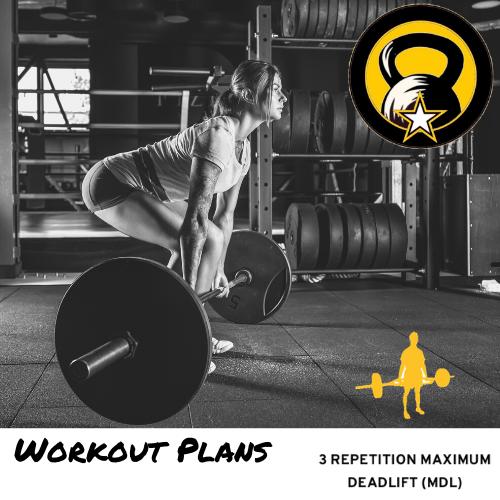 Deadlift ACFT Workout Plan