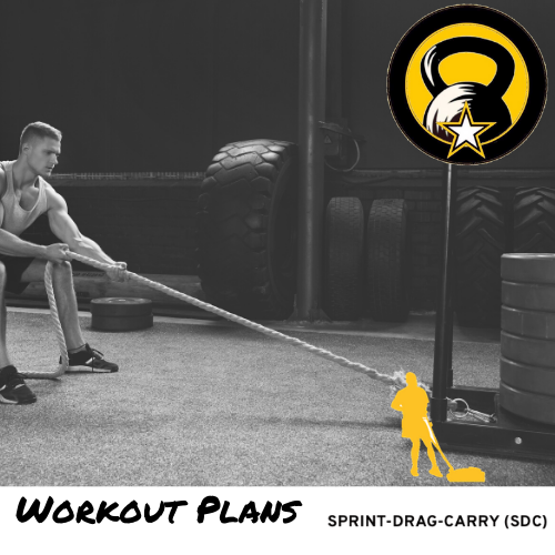 sprint drag carry ACFT Workout Plan