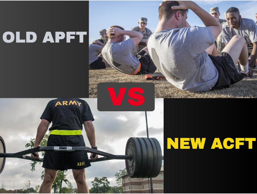 Army Workouts - APFT vs ACFT