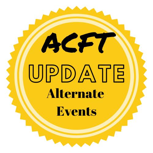 Update on Alternate Events